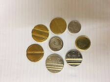 TOKENS AIR LINE VACUUM-HIGH SECURITY--50 --VENDING-COIN-MECHS-COIN OPS