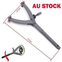 Motorcycle Clutch Flywheel Pulley Sprocket Spanner Wrench Holder Locking Tool