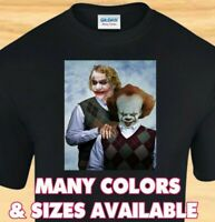 CLOWN STEPBROTHERS - Joker Pennywise IT - Funny CUSTOM T-SHIRT