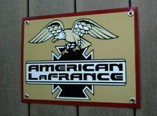American LaFrance firetruck maker sign