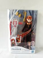 Disney Princess Frozen 2 Sister Styles Anna Fashion Doll Braiding Tool Hair Clip