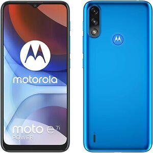 Motorola Moto E7i Power 4G Smartphone 32GB Unlocked Sim-Free - (Tahiti Blue) B