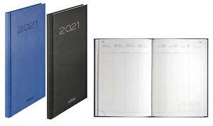 Herlitz 50029952 Wochenkalender Sidney 2021, blau oder schwarz Cheftimer