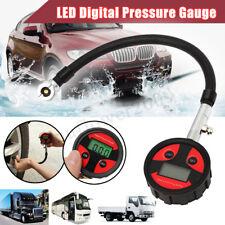 Digital Air Tire Pressure Inflator LCD Gauge for Car Motor Tire Pressure Tester