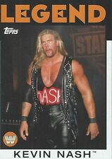 Kevin Nash 2016 WWE Heritage Legend Trading Card #87 WCW WWF