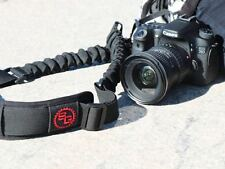 StatGear BOOMR Bungee Ultimate Camera Strap BLACK/RED Fits Canon Nikon Sony DSLR