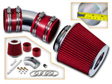 BCP RED 06-08 Impala/Monte Carlo 3.5L/3.9L V6 Air Intake Induction Kit + Filter