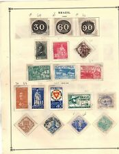 Collection stamps South America 1850-1950's appx 2800 stamps mnh mh used (mb13