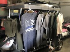 mens tee shirts lot Size Large Gap, H&M, Howitzer, Custom Ink. Excellent cond