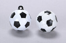 Two Footballs Approx. 25mm, Doll House Miniatures, Sports 1.12th Scale