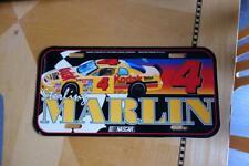 NASCAR STERLING MARLIN #4 Front License Plate & Drafting Frame