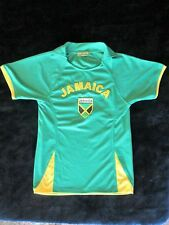 "Girls Jersey HERITAGE ""Authentic Jamaican Wear"" Jamaica Flag Stitched Size 10-12"