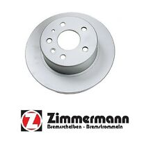 For Mercedes 220 250SE 380SEC 280SE Rear Disc Brake Rotor Solid Zimmermann