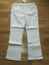 cotton traders white stretch jeans bootcut size 12 leg 31 brand new with tags