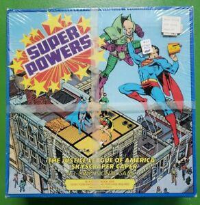 Super Powers The Justice League Of America Skyscraper Caper 3D Game 1984 SEALED