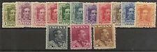 Edifil 310/323*  Alfonso XIII Tipo Vaquer  1922-1930    NL539