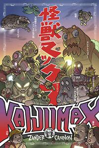 Kaijumax Deluxe Edition HC Volume 1 Hardcover Graphic Novel