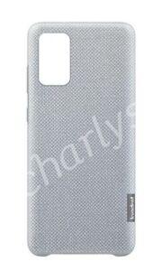 Original Samsung Kvadrat Cover für Galaxy S20+ Plus Grau EF-XG985 Case Hülle