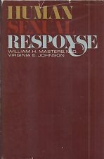 "William Masters & Virginia Johnson ""Human Sexual Response"" (1966) FIRST PRINTING"