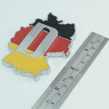 For Mercedes-Benz Germany Flag Chrome Front Grille Grill Emblem Badge Sticker