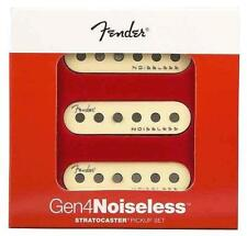 Fender® Gen 4 Noiseless Stratocaster® Pickup Set~10.3k~Aged White~USA~Brand New
