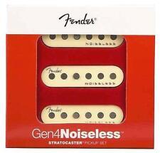Fender Generazione 4 Noiseless Stratocaster Set di Pickup 10.3k Età Bianco