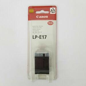 Genuine Canon LP-E17 Battery LC-E17 Charger Set For Canon 750D 760D 800D 200D