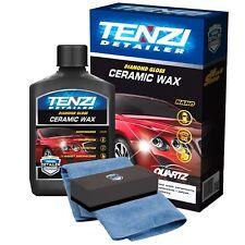 TENZI Ceramic Wax Diamond Gloss Car Coating Protection & microfibre & applicator