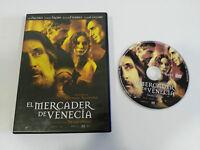 EL MERCADER DE VENECIA DVD AL PACINO JEREMY IRONS MICHAEL RADFORD