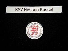 "Magnetlogo & Schriftzug ""KSV Hessen Kassel"" für Magnettabelle Magnet Logo"