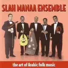 "SLAH MANAA ENSEMBLE ""The Art Of Arabic Folk Music"" (CD 1998) 11-Tracks EXCELLENT"