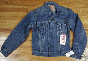 Levis Vintage Collection Capital E Jacket 70505-9026 1975 557 Trucker Frank M