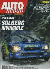 AUTO HEBDO n°1482 du 16 Février 2005 WRC SUEDE NISSAN 350Z ROADSTER VIPER SRT 10
