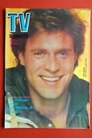 JOHN JAMES DYNASTY ON COVER 1984 RARE EXYUGO MAGAZINE