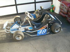 70's Vintage Racing Go Kart - Great Condition Garage Find Extra Rims Slicks
