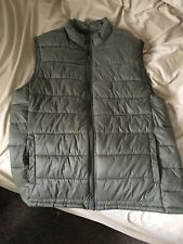 SONOMA MENS MEDIUM Life+Style PUFFER VEST Jacket Green Full Zipper NEW