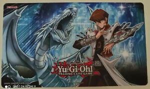 Playmat Tappetino YU-GI-OH! Konami Seto Kaiba e Drago Bianco Occhi Blu