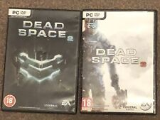 Dead Space 2 & 3 PC Games. Discs, Leaflets & Manuals Included. See Description.