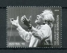 Austria 2018 MNH Leonard Bernstein 100th Birth 1v Set Composers Music Stamps