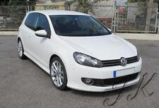 VW Golf MK6 - Front Lip Bumper Spoiler Diffuser Add On