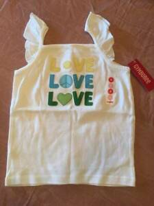 NWT Gymboree Pop of Daisies Girl's Appliqued Love Tank Size 8