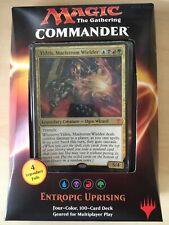 MTG Commander 2016 Entropic Uprising deck - NEW SEALED - Thrasios, Burgeoning...