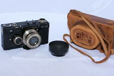 Zeiss Contax I (E) 35mm film rangefinder camera with 5cm f2.8 Tessar lens w/hood