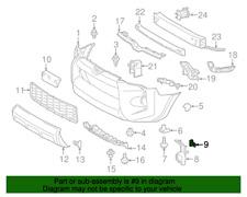 ( 1 ) GENUINE TOYOTA/LEXUS 75392-35220 RETAINER - Outside Molding