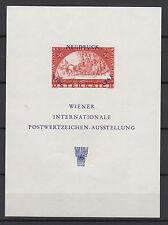 AUTRICHE NEUDRUCK WIPA 1965 un feuillet neuf  /T732