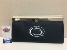 PENN STATE, NIttany Lions, Ladies Clutch Purse, With Chain, Licensed, NWT