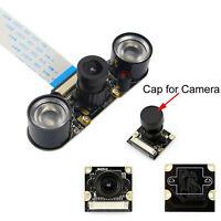 Night Vision IR Surveillance Camera+2Pcs 3W Infrared Light For Raspberry Pi3/2B