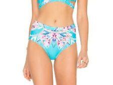 6 Shore Road La Playa Bikini Bottom Swimwear Sz XS Floral (K27)