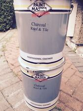 HEAVY DUTY CHARCOAL Acrylic Roof And Tile Paint 20lt CHEAPEST ON EBAY 7 COLOURS