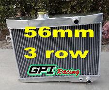 56mm aluminum alloy radiator Volvo Amazon P1800 B18 B20 engine GT 1959-1970 M/T